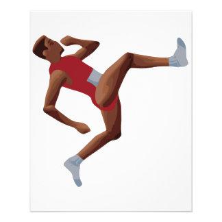 QWOP Goofy Track Runner 11.5 Cm X 14 Cm Flyer