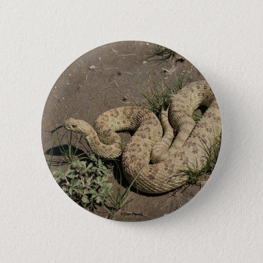 R0006 Prairie Rattlesnake button