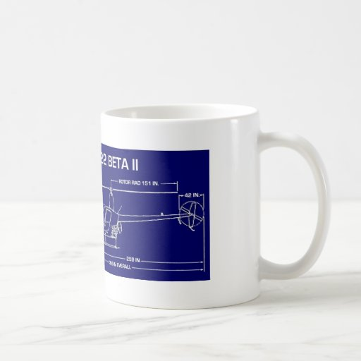 R22 Helicopter Mug