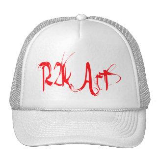 R2k Art-Marimonda Lettering Trucker Hats