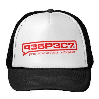 R35P3C7 tracker hat RESPECT