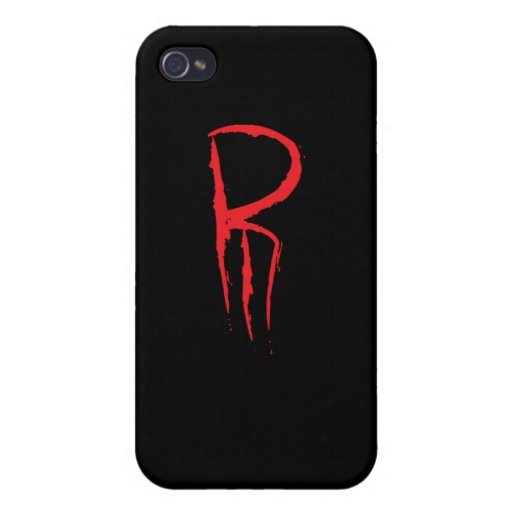 R3 official logo case for iPhone 4