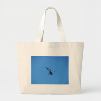 R44 Helicopter Large Tote Bag