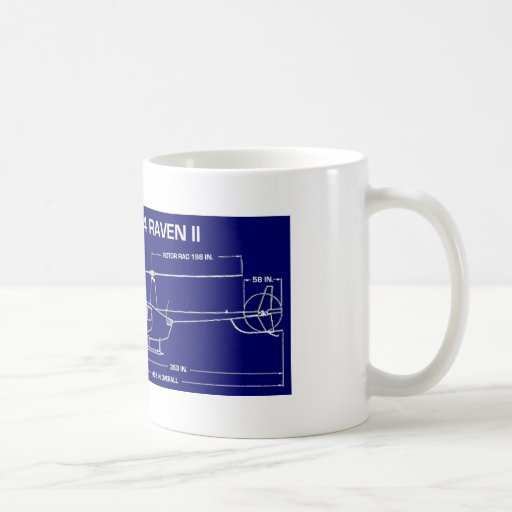 R44 Helicopter Coffee Mugs