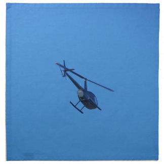 R44 Helicopter Napkin