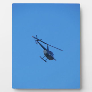 R44 Helicopter Photo Plaque