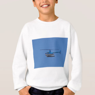 R44 helicopter with floats sweatshirt