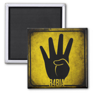 R4BIA SQUARE MAGNET