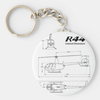 R-44 Robinson Key Ring