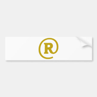 R-at Bumper Stickers