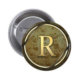 r 6 cm round badge