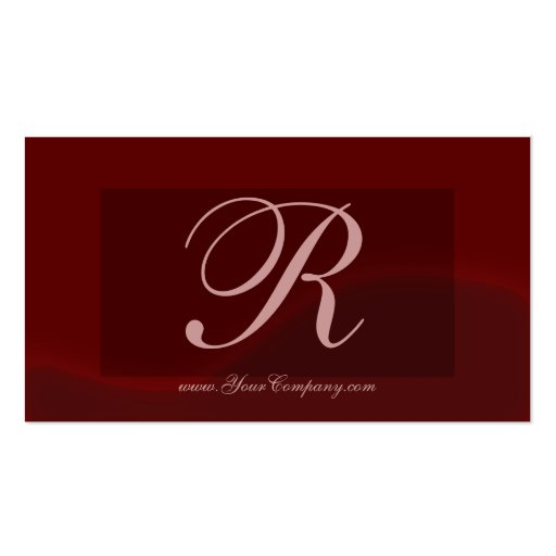 'R' Business Card