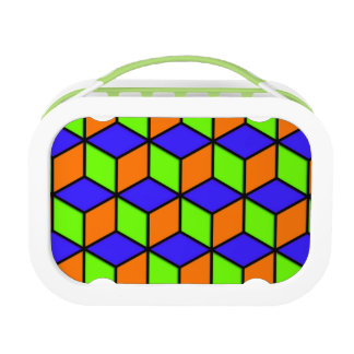 R Cube Look Lunch Box