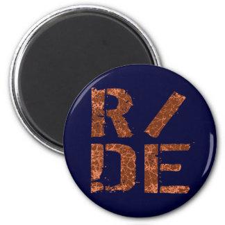 R/DE 6 CM ROUND MAGNET