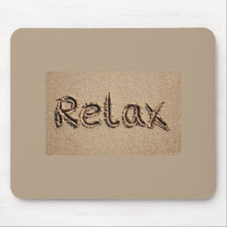 """R E L A X"" MOUSEPAD FOR THE RETIREE, ELDERLY/YOU!"