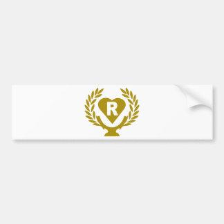 R-heart-coppa-corona png bumper stickers