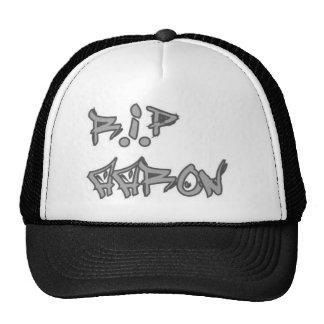 R.i.P Aaron Trucker Hat