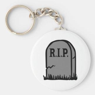 R.I.P. - Death Basic Round Button Key Ring