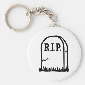R.I.P. - Gravestone Keychains