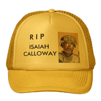 R I P, ISAIAH CALLOWAY CAP