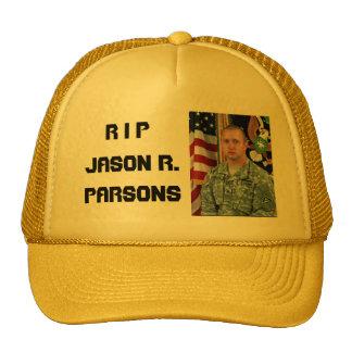 R I P, Jason R.  Parsons Cap