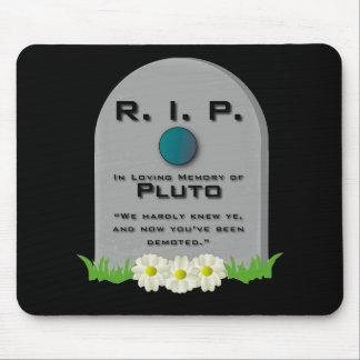 R I P Pluto Mouse Mat