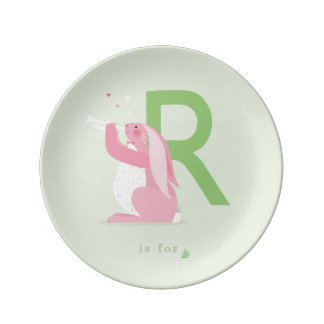 R is for... plate