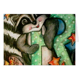 R is for Raccoon Cards
