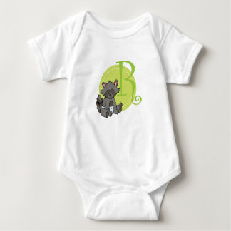R is for Racoon Baby Bodysuit