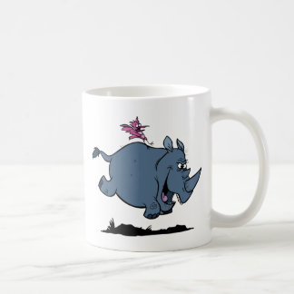 R is for Rhino Coffee Mug