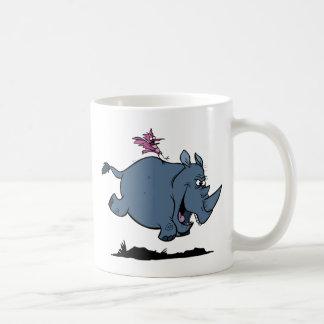 R is for Rhino Coffee Mug