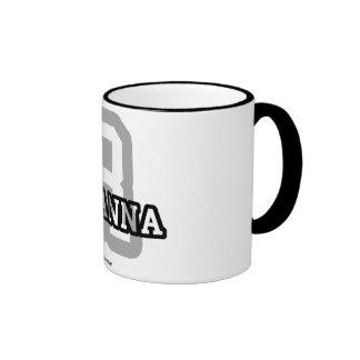 R is for Rihanna Ringer Mug