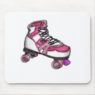 R is for Rollerskate Mouse Pad
