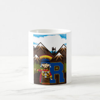R is for Roman Soldier Coffee Mugs