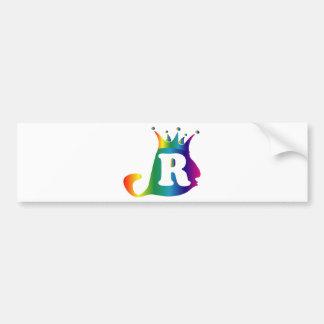 R-Lello-Re-Bello png Bumper Sticker