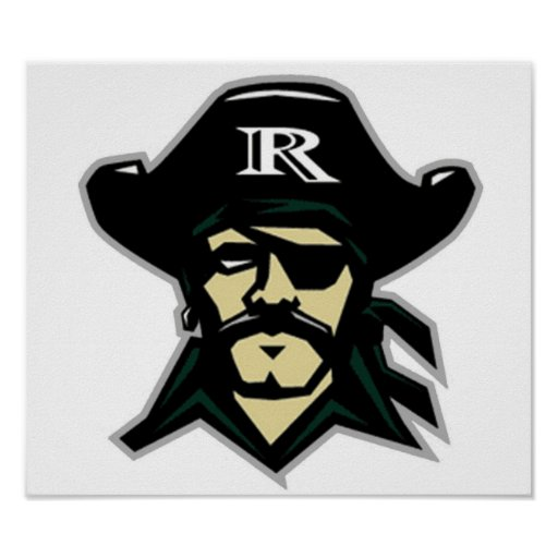 R. Logo Poster