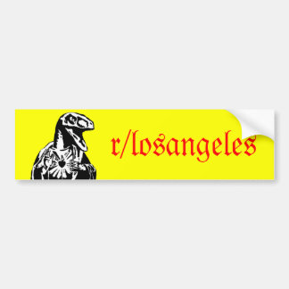 r/LosAngeles Raptor Jesus Bumper Sticker