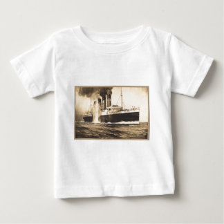 R.M.S. Lusitania Hit by Torpedos off Kinsale Head Baby T-Shirt