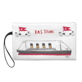 R M S Titanic - wristlet