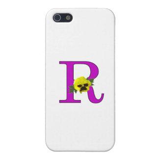 """""""R"""" Monogram Case For iPhone 5/5S"""