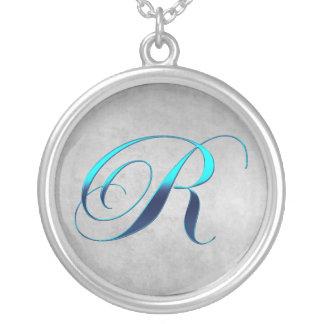 R Monogram Necklace