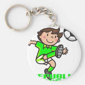 R. of Ireland - Euro 2012 Basic Round Button Key Ring