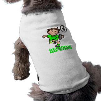 R. of Ireland - Euro 2012 Pet T Shirt