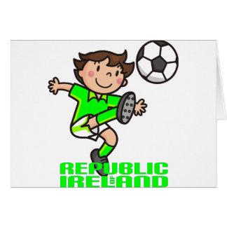 R. of Ireland - Euro 2012 Greeting Card