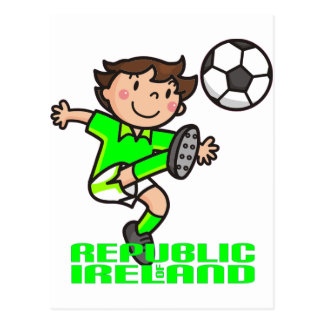 R. of Ireland - Euro 2012 Postcard