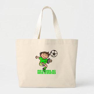 R. of Ireland - Euro 2012 Jumbo Tote Bag