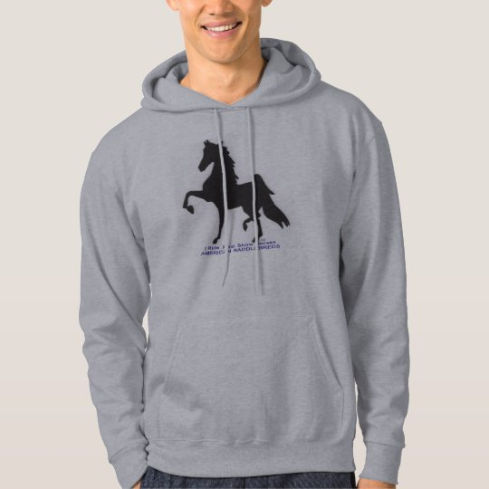 R & R Stables Show Horse Hoodie