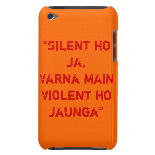R... Rajkumar Quote iPod Touch 4G Case Barely There iPod Covers