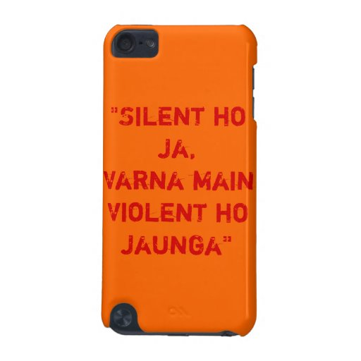 R... Rajkumar Quote iPod Touch 5G Case