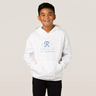 R River- Saint Lawrence Kid's Fleece Sweatshirt